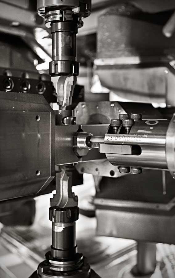 Mechanische Bearbeitung Messing