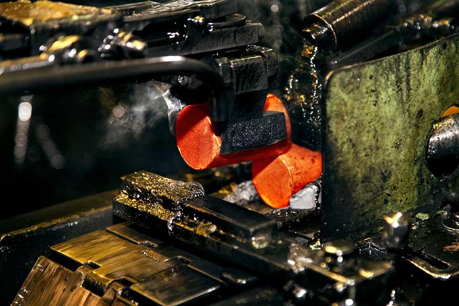 Brass hot forging