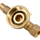 Brass forged parts for water meters