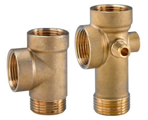 Fittings for pumps and surge tanks