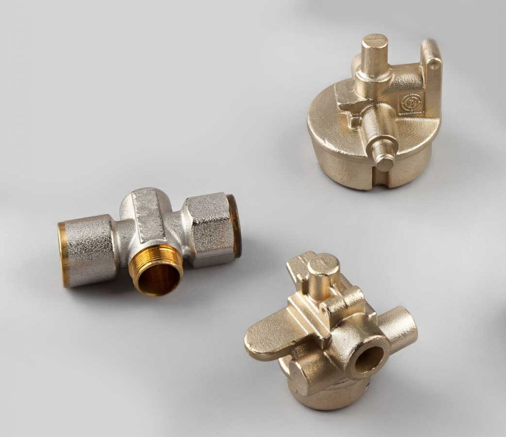 Brass components for fire fighting systems