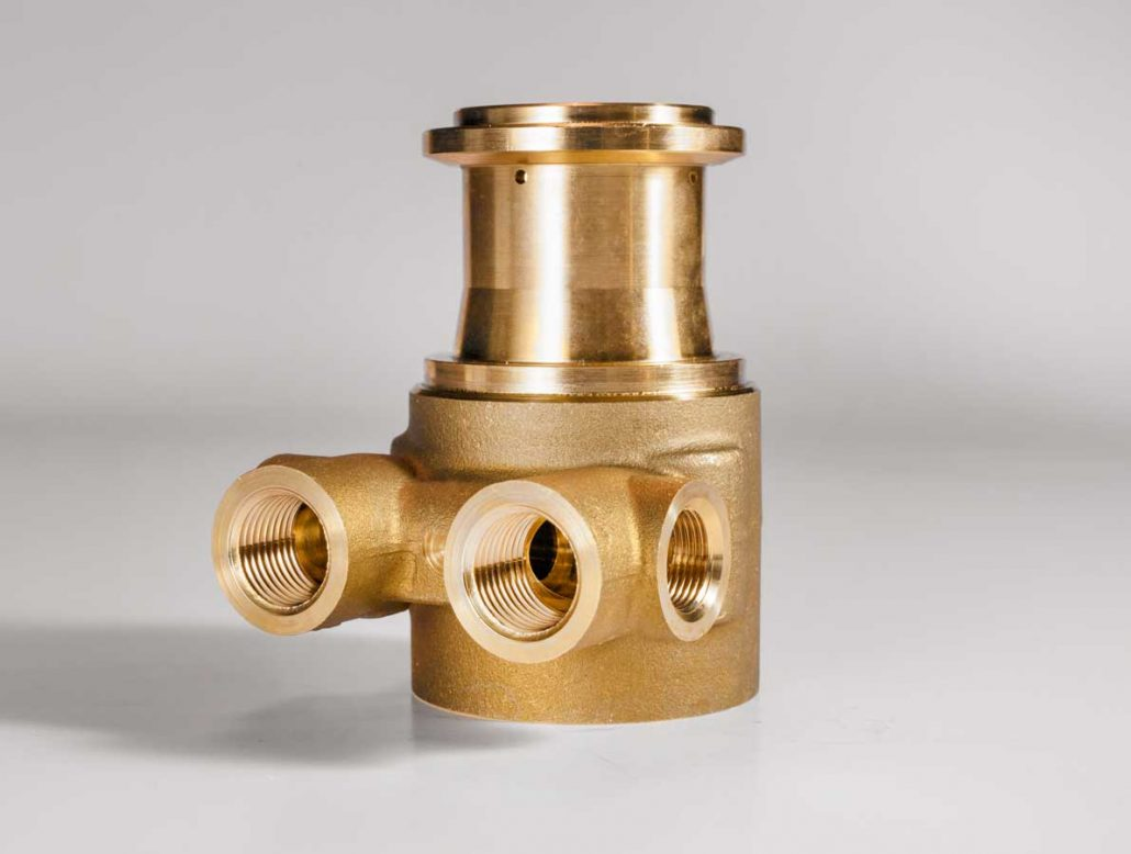 Brass parts for beverage dispensing and espresso machines