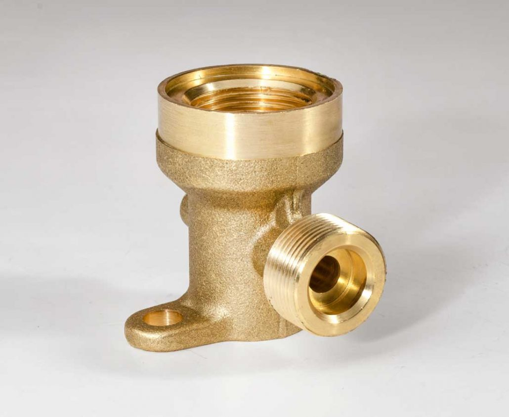 Brass parts for medical industry
