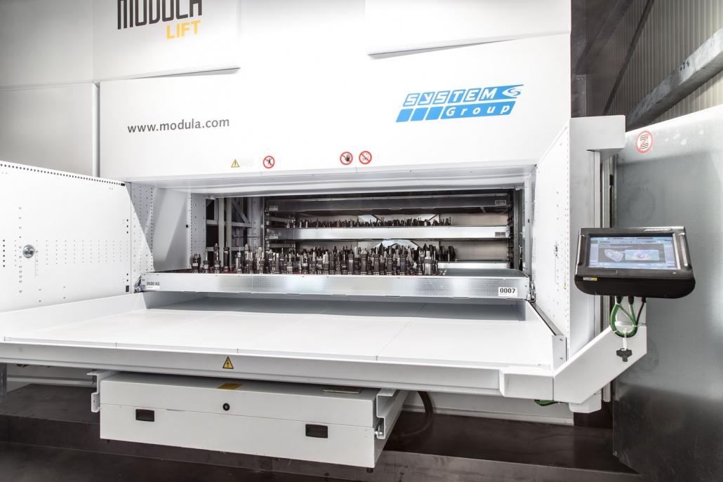 Magazzino verticale automatico | Donati Group | Lumezzane Brescia
